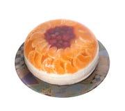 La maison a effectué le gâteau au fromage Image stock