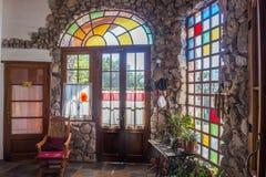 La maison est colorée images libres de droits