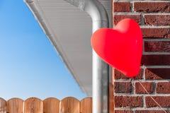 La maison est où le coeur est Images stock