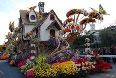 La maison est où le coeur est flotteur à la 122nd excursion Image libre de droits