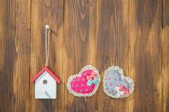 La maison est un endroit rempli avec amour Image libre de droits