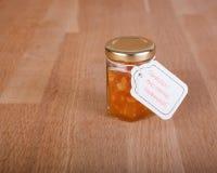 La maison a fait la confiture d'oranges Photographie stock