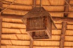 La maison a fait la lampe Images libres de droits