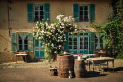 La maison francais (french house) Royalty Free Stock Images