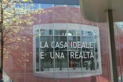 La maison idéale est une réalité Photographie stock libre de droits
