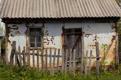 La maison jetée Photo stock