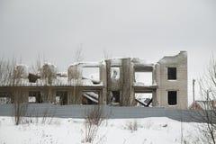 La maison non finie fragment Photo libre de droits