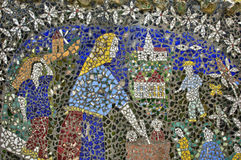 La Maison Picassiette, an old earthenware mosaic in Chartres Royalty Free Stock Image