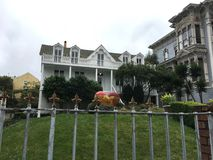 La maison la plus ancienne à San Francisco, encore inchangé, 3 photographie stock libre de droits