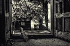 À la maison scène Image libre de droits