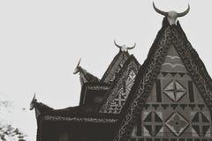 La maison traditionnelle photos stock