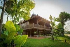 La maison traditionnelle cambodgienne photos libres de droits