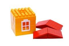 La maison un jouet Images libres de droits
