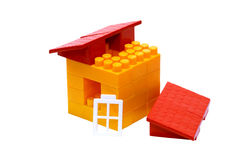 La maison un jouet Images stock