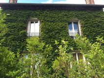 La maison verte Photos stock