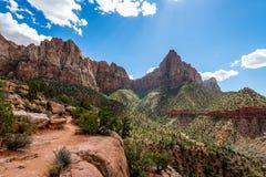 La majesté de Zion National Park photographie stock libre de droits