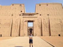 La majestad de Egipto Imagen de archivo