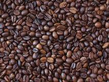 La mal calidad asó el fondo mezclado del modelo de los granos de café Fondo asado de los granos de café imagenes de archivo