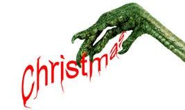 La mala Navidad Imágenes de archivo libres de regalías