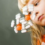 La maladie d'enfance Image stock