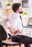 La maladie dans le bureau image stock