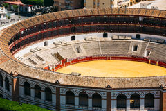 La Malagueta is the bullring Malaga, Spain Royalty Free Stock Photos