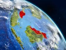 La Malaisie de l'espace illustration libre de droits