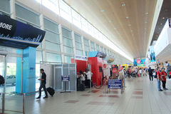 La Malaisie Kota Kinabalu International Airport Image stock