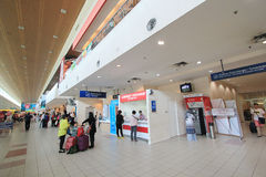 La Malaisie Kota Kinabalu International Airport Image libre de droits