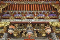 La Malaisie, Penang : Temple chinois Images libres de droits