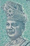 LA MALAISIE - VERS 2012 : Tunku Abdul Rahman (1903-1990) sur le bankno Image libre de droits