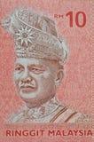 LA MALAISIE - VERS 2012 : Tunku Abdul Rahman (1903-1990) sur le bankno Images libres de droits