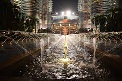 La Malesia alla notte Fotografie Stock Libere da Diritti
