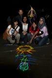 La Malesia celebra l'ora 2011 della terra Fotografia Stock