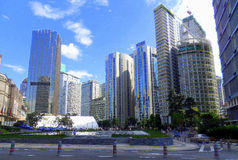 La Malesia - Kuala Lumpur Immagine Stock Libera da Diritti