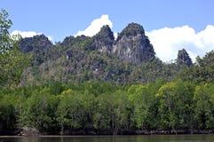 La Malesia, Langkawi: paesaggio Immagini Stock