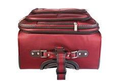 La maleta cerrada roja Imagenes de archivo