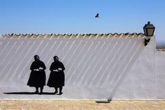 La Mancha -西班牙 库存照片