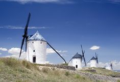 La Mancha Royalty Free Stock Photo