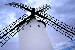 La Mancha Aspas de molino en Стоковая Фотография