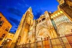 La Mancha, Catedral Primada de Toledo, Espagne - de Castille Images stock