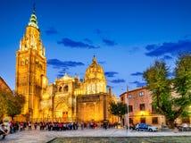 La Mancha, Catedral Primada Toledos, Spanien - Kastilien- stockfotos