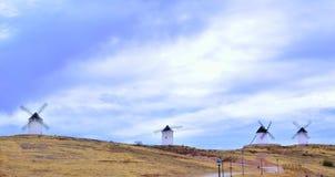 La Mancha en Molinos Стоковая Фотография