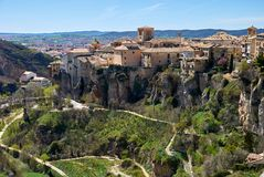 La Mancha, Spanien Cuenca-, Kastilien lizenzfreie stockfotos