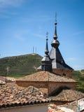 La Mancha, Spanien Jadraque, Kastilien Lizenzfreies Stockbild