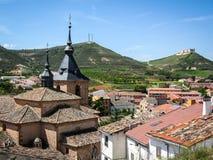 La Mancha, Spanien Jadraque, Kastilien Stockfotos