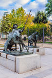 La Mancha, Spanje van Ciudad Real, Castilla Royalty-vrije Stock Foto's