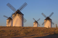 La Mancha - Windmills - Spain Royalty Free Stock Photography