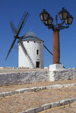 La Mancha Windmills - Spain Royalty Free Stock Images