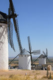 La Mancha Windmills - Spain Royalty Free Stock Image